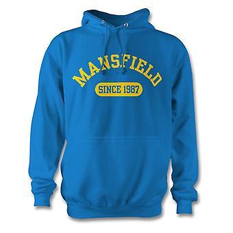 Mansfield Town 1987 perustettu jalkapallo huppari