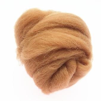 Wool Fiber Flower Spinning