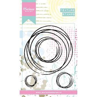 Marianne Design klare Briefmarken Doodle Kreise mm1623