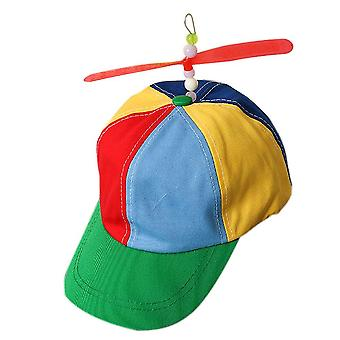 Helicopter Rainbow Tweedle Pride Party Hat (as Show)