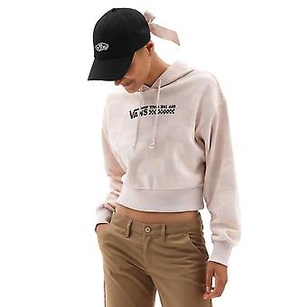 Vans Women's Straight Out Turvy Print Hoodie Oversized Fit