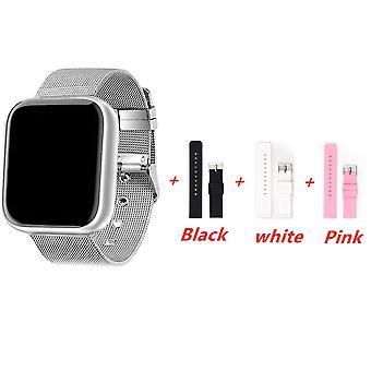 Fashion Smart Watch Women Men Electronics Sport Wrist Watch For Android Ios