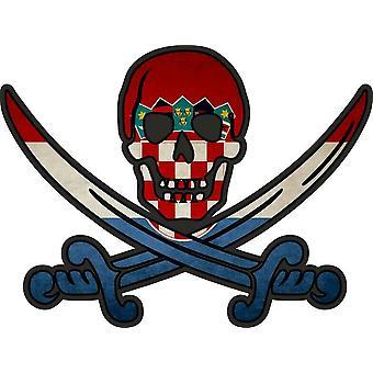 ملصق ملصقا القراصنة جاك rackham calico العلم البلد الموارد البشرية كرواتيا