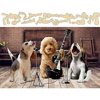 Puppy Band Jigsaw Puzzle #6737