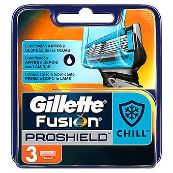 Gillette deler Fusion5 Prhield chill 3 enheter