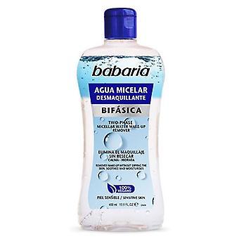 Babaria Bifasica Agua Micelar Desmaquillante 400 ml