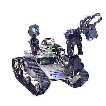 Programmable Th, Wifi, Bluetooth Fpv Tank Robot Car Kit With Arm, For  Arduino