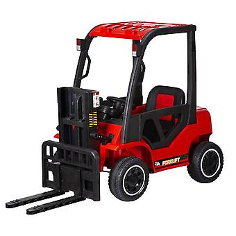 Children's Simulation Liftable Charge Forklift Four Wheel Remote Control Car