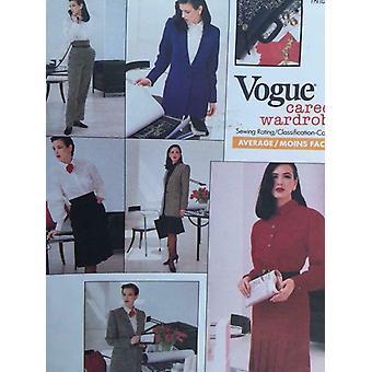 Vogue coser patrón 2106 se pierde chaqueta vestido top falda pantalones tamaño 12 carrera