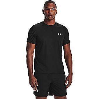 アンダーアーマーUAスピードストライド - 反射の詳細、半袖、男、参照とメンズ半袖Tシャツ。0194513793617
