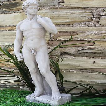 Stone Effect Male Figure David Large