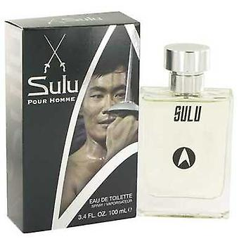 Star Trek Sulu By Star Trek Eau De Toilette Spray 3.4 Oz (men) V728-515948