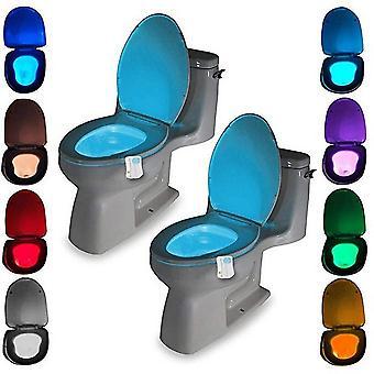 Led Pir Motion Sensor 8 Color Toilet Seat Night Light