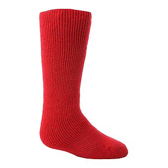 Childrens colourful fleece lined thermal socks