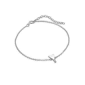 Hot Diamonds Diamond Letter Y Bracelet DL636