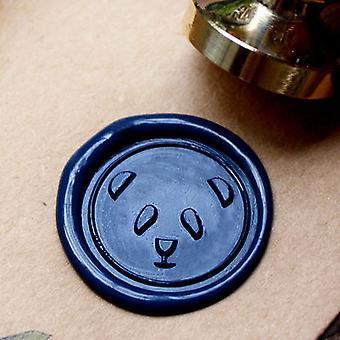 Panda Metal Stamp / Wedding Wax Seal Stamp