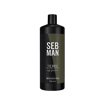 Volumising Shampoo Sebman The Boss Seb Man (1000 ml)