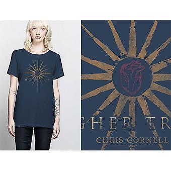 Chris Cornell - Higher Truth Ladies X-Large T-Shirt - Blue