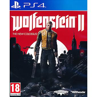 Wolfenstein 2 The New Colossus PS4 Game