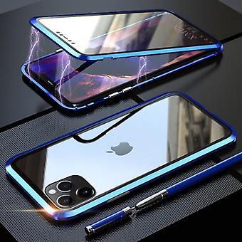 Magnetische glazen beschermhoes voor verschillende soorten mobiele telefoonhoesjes