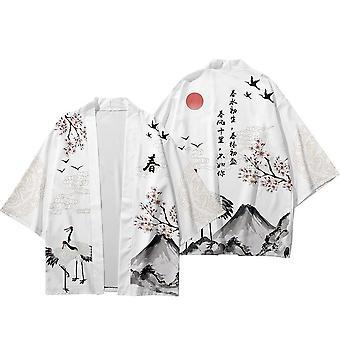 Kimono Haori Pants Set