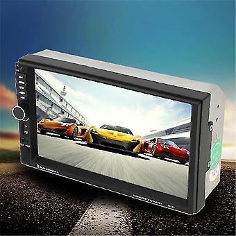 2 Din Universal Bluetooth 7 Zoll Touchscreen Aux Eingang Auto Dvd Fm / mp5 Player