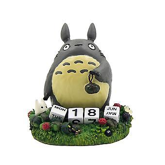 ميازاكي تاكينوري جارتي Totoro Ranukka غرامة مشهد زهرة وعاء الديكور الشكل