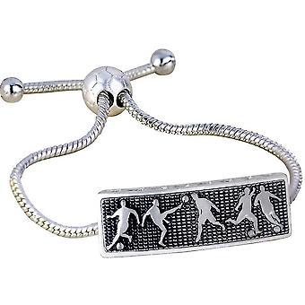 Adjustable Bracelet 3d Relief Football Villain Wristband