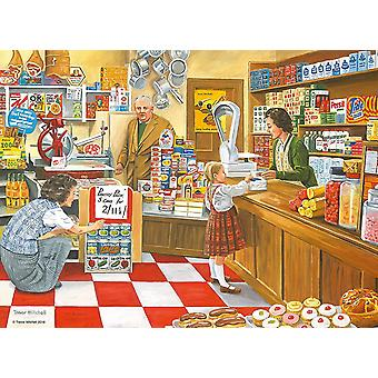 Ravensburger The Corner Shop Jigsaw Puzzle (100 XXL Extra Large Pieces)