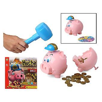 Educational Game Piggy bank (27 x 27 cm)