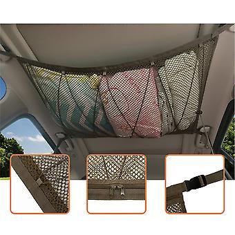 תקרת רכב אחסון נטו כיס גג פנים מטען תיק נייד תא מטען תא מטען שקית אחסון Sundries אחסון נייד