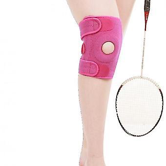 Een paar buitensportfitness klimmen kniebeschermers (roze)