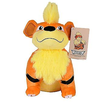 Growlithe بوكيمون أفخم دمية لعبة 25cm الأطفال هدية عيد الميلاد