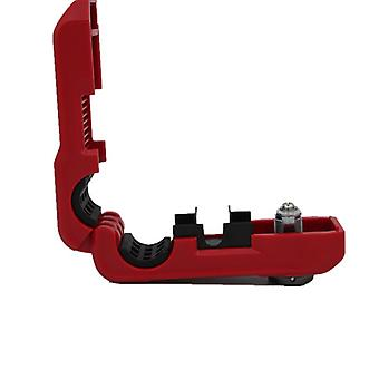 Bike lock for the handlebar with combination code Red