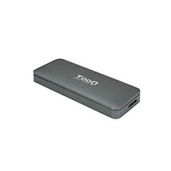 Externe box TooQ TQE-2281G SSD USB 3.1 Grijs