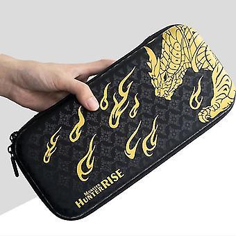 para Nintendo Switch Monster Hunter RISE Theme Protective Storage Bag