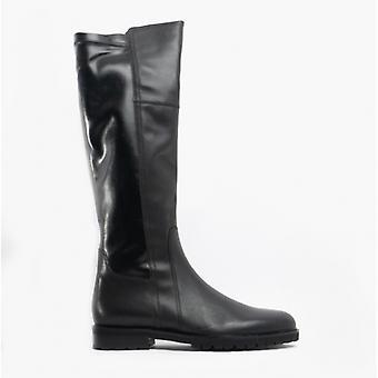 Gabor Kabine Damen Leder Tall Boots Schwarz