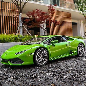 Toy cars 1: 24 lamborghini 4 alloy car model simulation collection christmas gift die cast model non remote control