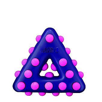 Dog toys dots triangle large