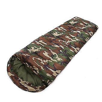 Feuchter Campingschlafsack 4 Jahreszeit warm kalt umschlag Rucksack Schlafsäcke für outdoor