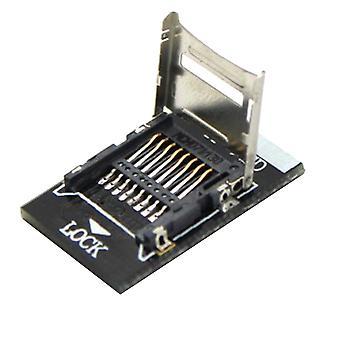 T-flash Tf To Micro Sd Adapter Module For Raspberry Pi Molex Deck (black)