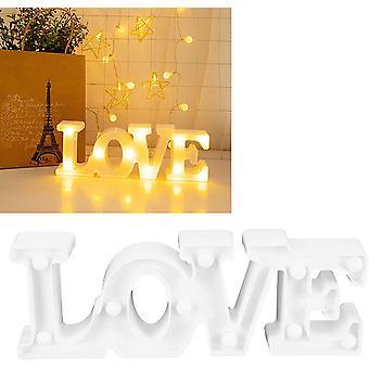 Lampka nocna, lampka nocna, innowacyjne oświetlenie otoczenia na rocznicę spowiedzi oświadczyn małżeńskich (biały)