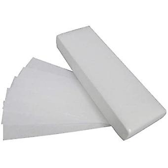 Tissu non tissé de haute qualité Bande d'épilation lisse pour le visage et le corps 100pcs