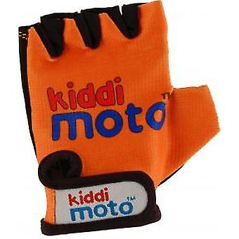 Kiddimoto hansker - Orange (liten)