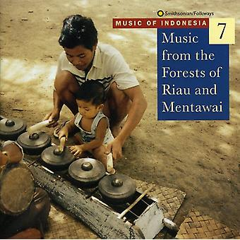 Music of Indonesia 7 - Music From the Forests of Riau [CD] USA import