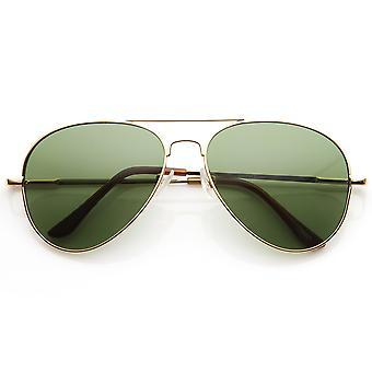 Klassisk opprinnelige ikoniske Metal Aviator solbriller