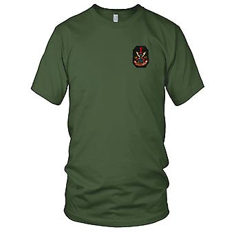 USMC 1 Marines 3dje bataljon geriljaen - militære Vietnamkrigen brodert Patch - Mens T-skjorte