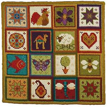Little Patchwork Needlepoint Kit