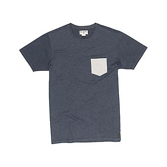 Billabong ALLDAY Pocket Lyhythihainen T-paita tumma Slate Heather