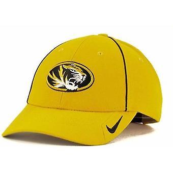 """Τίγρεις του Μιζούρι Gold εκατ Nike """"προπονητές"""" παλαιού τύπου 91 ρυθμιζόμενο καπέλο"""